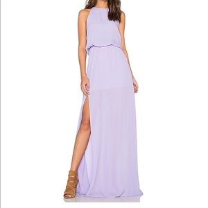 Heather Halter maxi in Lilac - Show Me Your MuMu